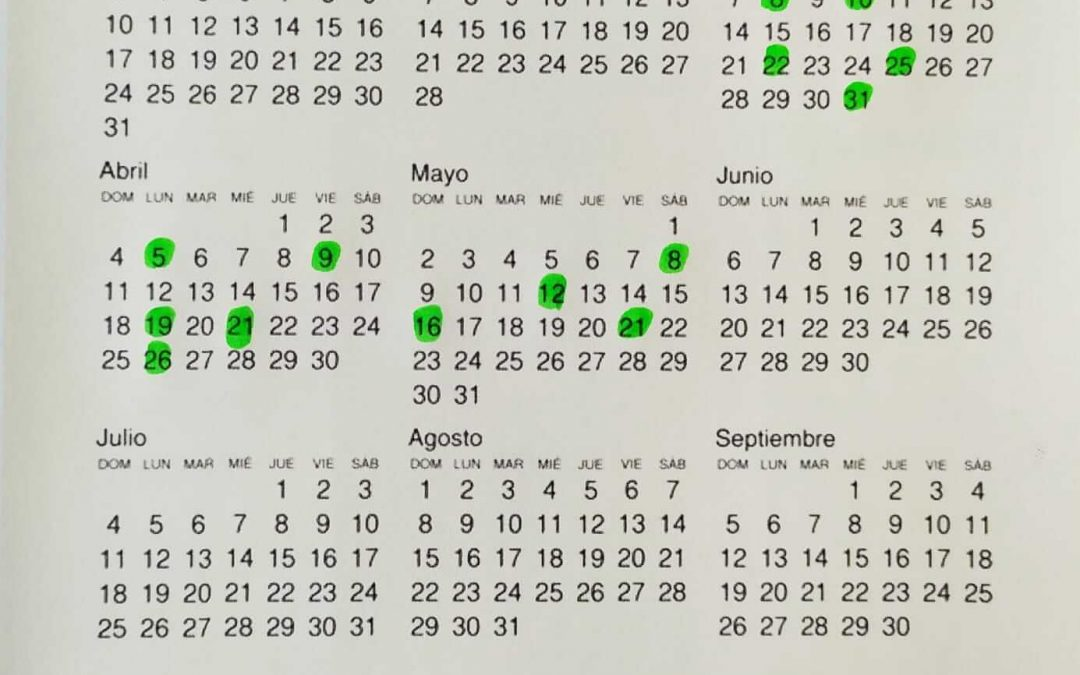 Régimen Electoral y Calendario